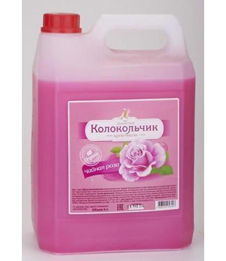 """Душистый Колокольчик жидкое крем-мыло 5л.""""Чайная Роза"""" канистра"""