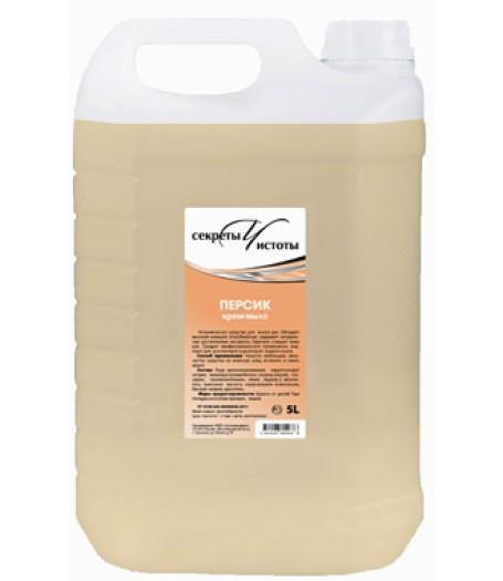 Жидкое крем-мыло Секреты чистоты Персик