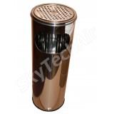 Урна с емкостью для мусора 18 л. Mellow SK 02001 Н с решеткой