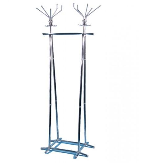 Вешалка гардеробная напольная Титан Алла-700ПК хром
