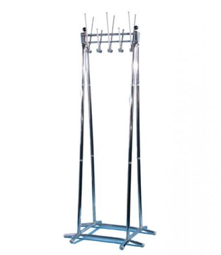 Вешалка гардеробная напольная Титан Алла-10 хром